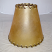 "6"" Wide Rawhide Lamp shade"
