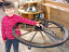 Colton Hoyle & Wagon Wheel Chandelier