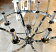 Chrome Foyer Chandelier