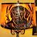 Mica Lamp Shade w/Dog Cutout