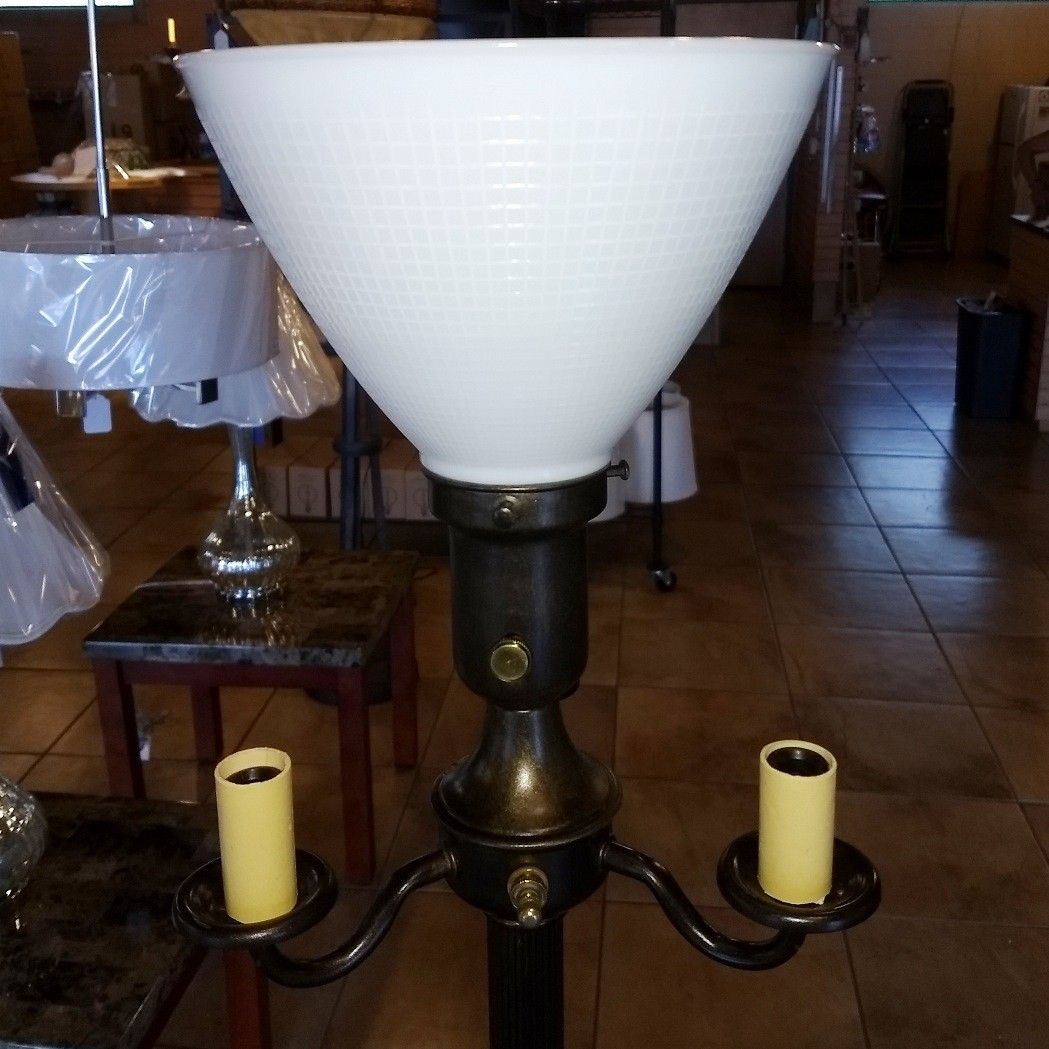 Vintage Art Deco 6 Way Floor Lamp 63 Quot H Lamp Shade Pro