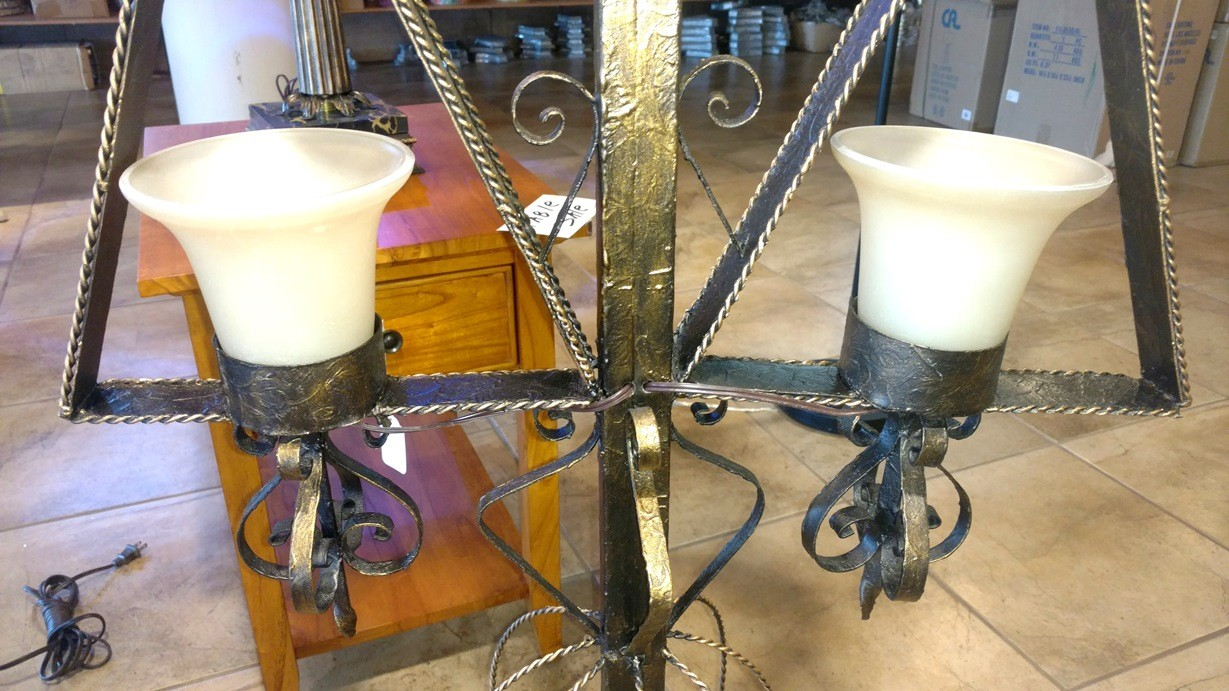 Antique Spanish Floor Lamp