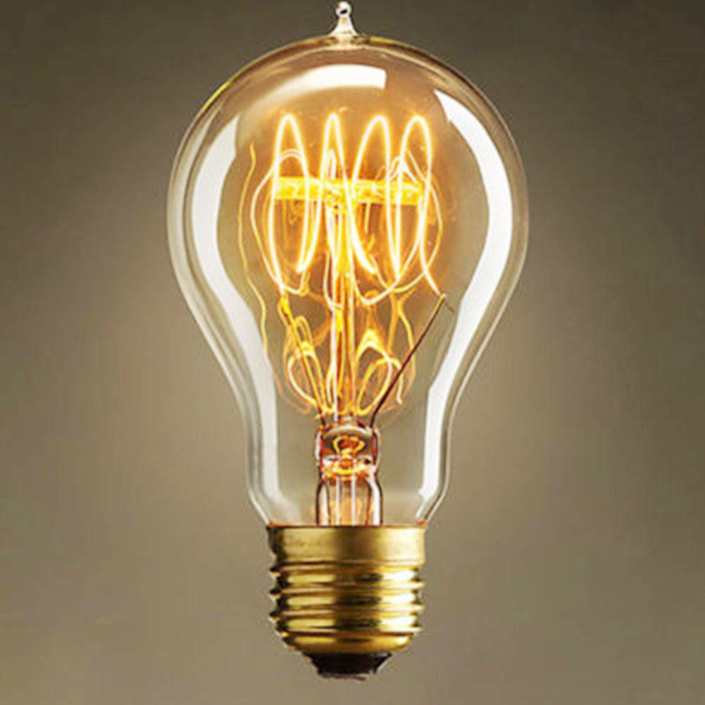 Includes 6 Vintage Edison Bulbs