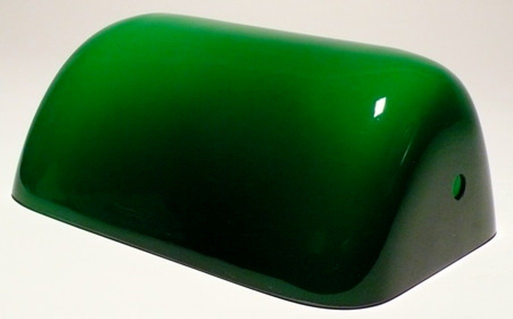 Green Glass Bankers or Pharmacy Lamp Shade | Lamp Shade Pro