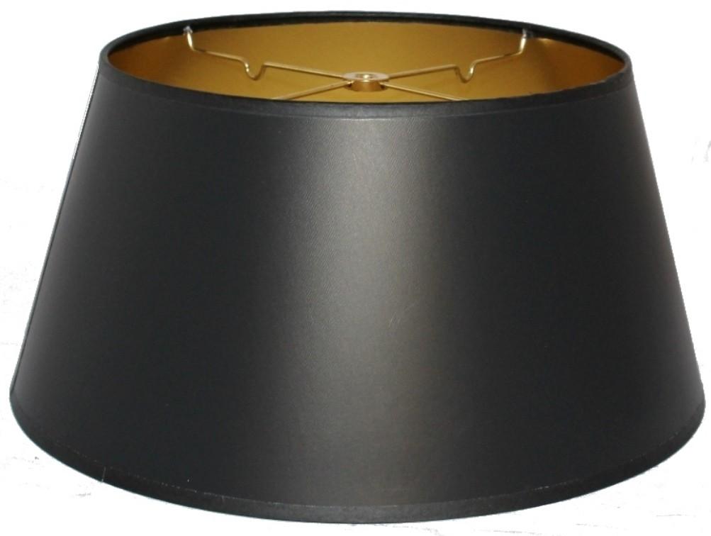 Black Bouillotte Lampshade