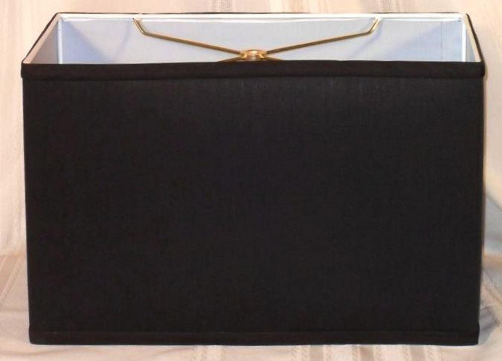 Black Rectangle Lampshade
