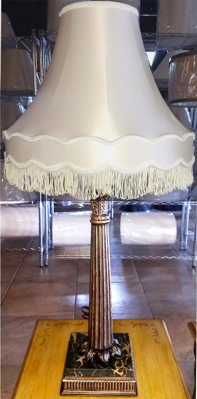 USA made lamp Victorian shade