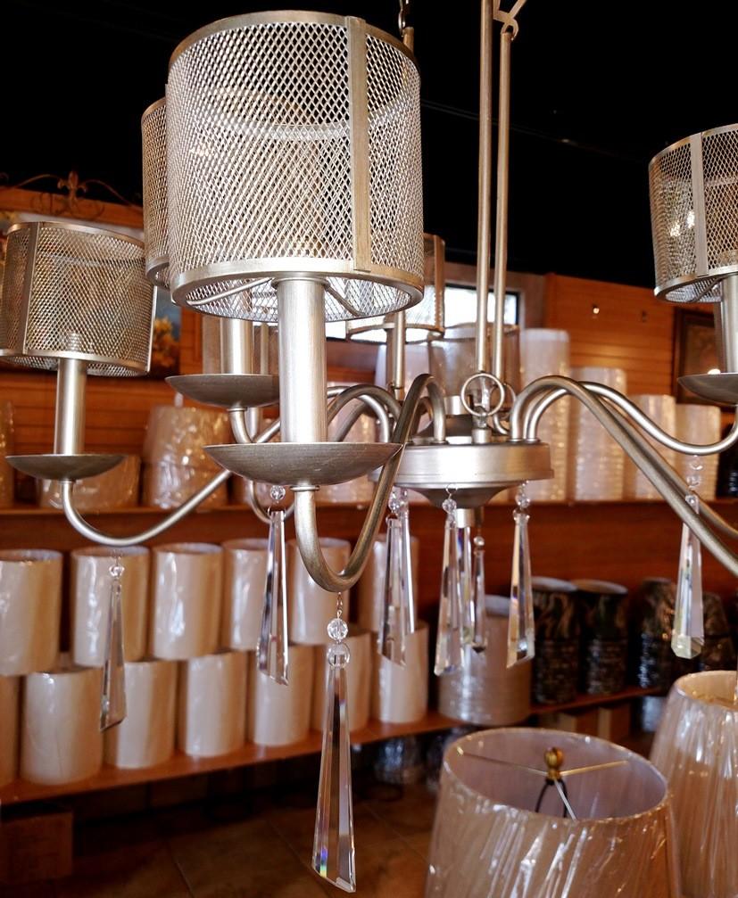 chandelier wire mesh shades