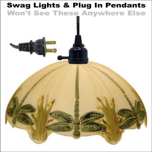 Dragonfly Swag Light