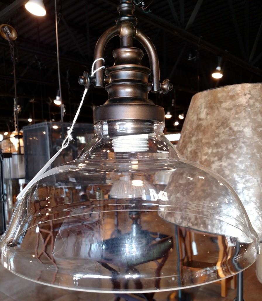 Glass Pendant Light