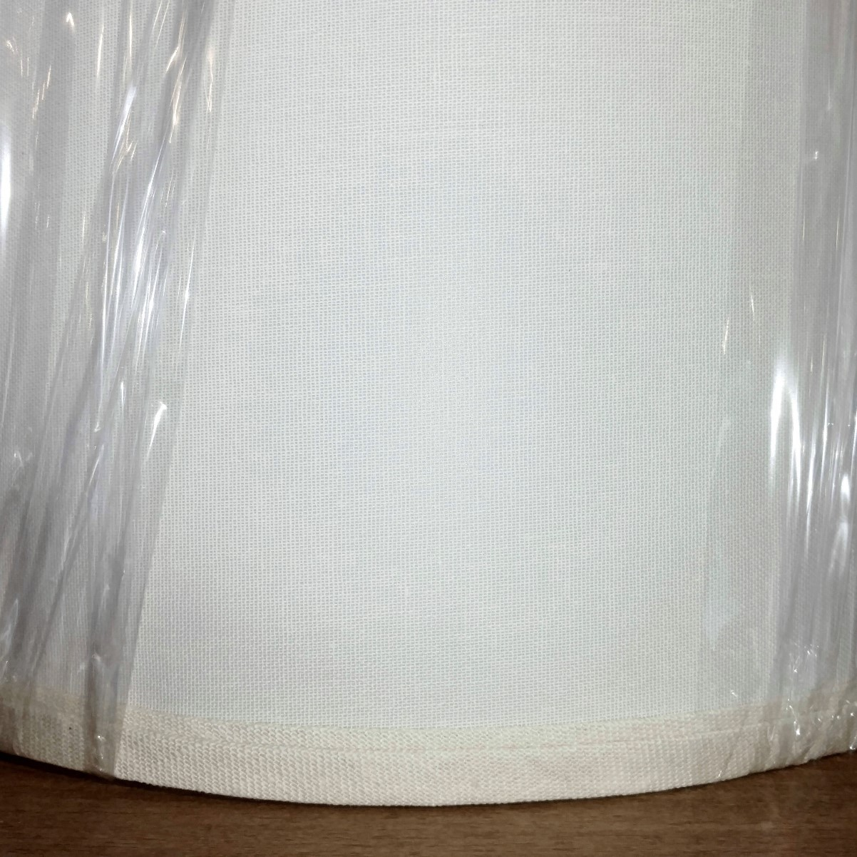 Linen Lampshade Closeup