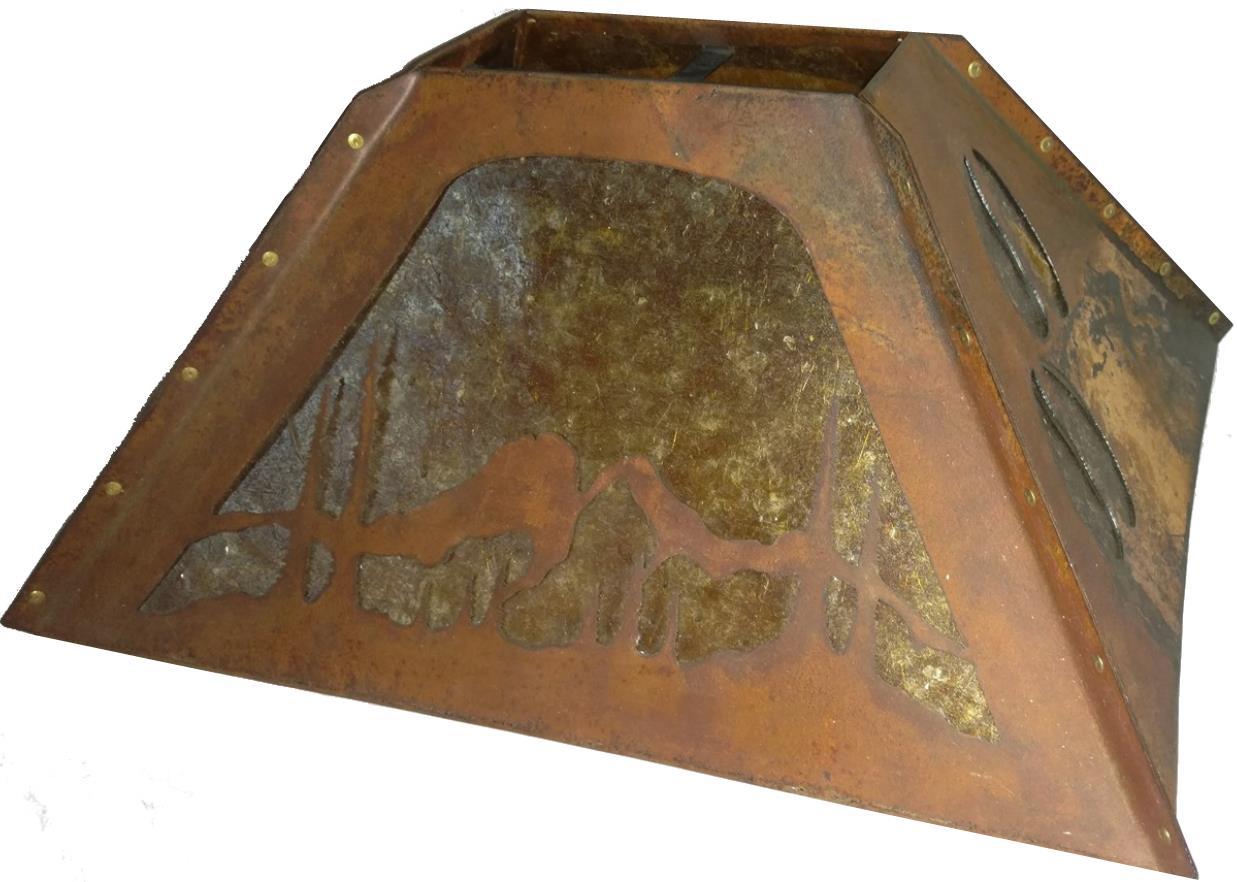 Deer Hoof Mica Lamp Shade