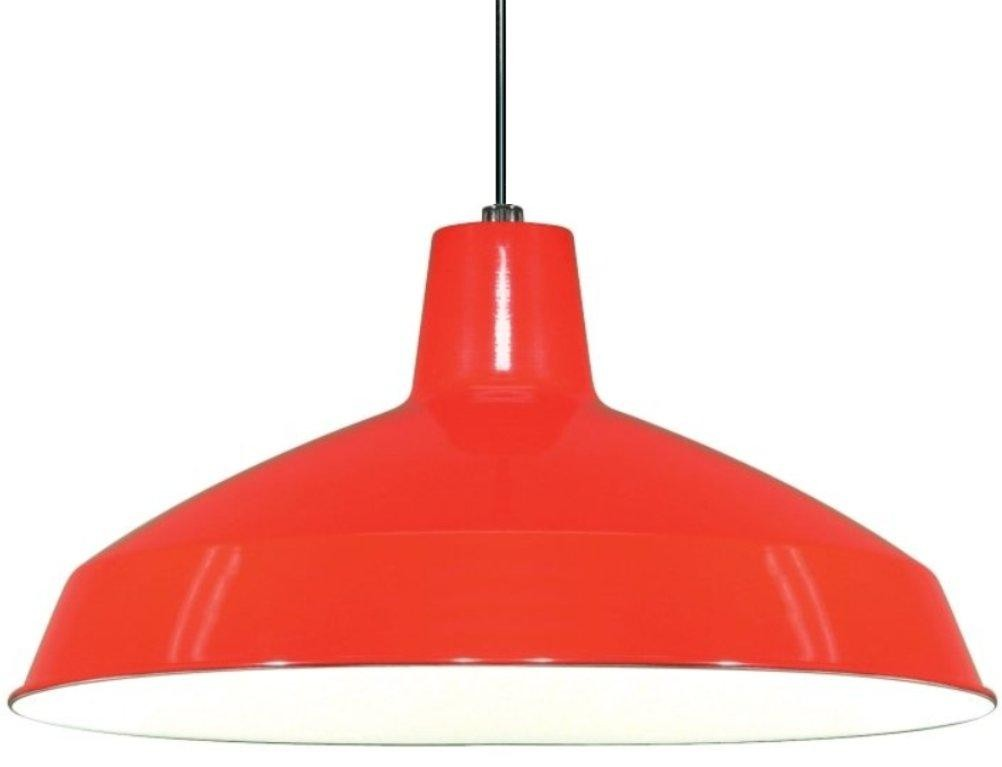 Retro Vintage Warehouse Pendant Light Lamp Shade Pro : red metal swag light from www.lampshadepro.com size 1002 x 767 jpeg 29kB
