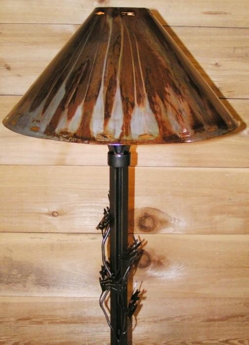 Limb U0026 Oak Leaf Design Wrought Iron Floor ...