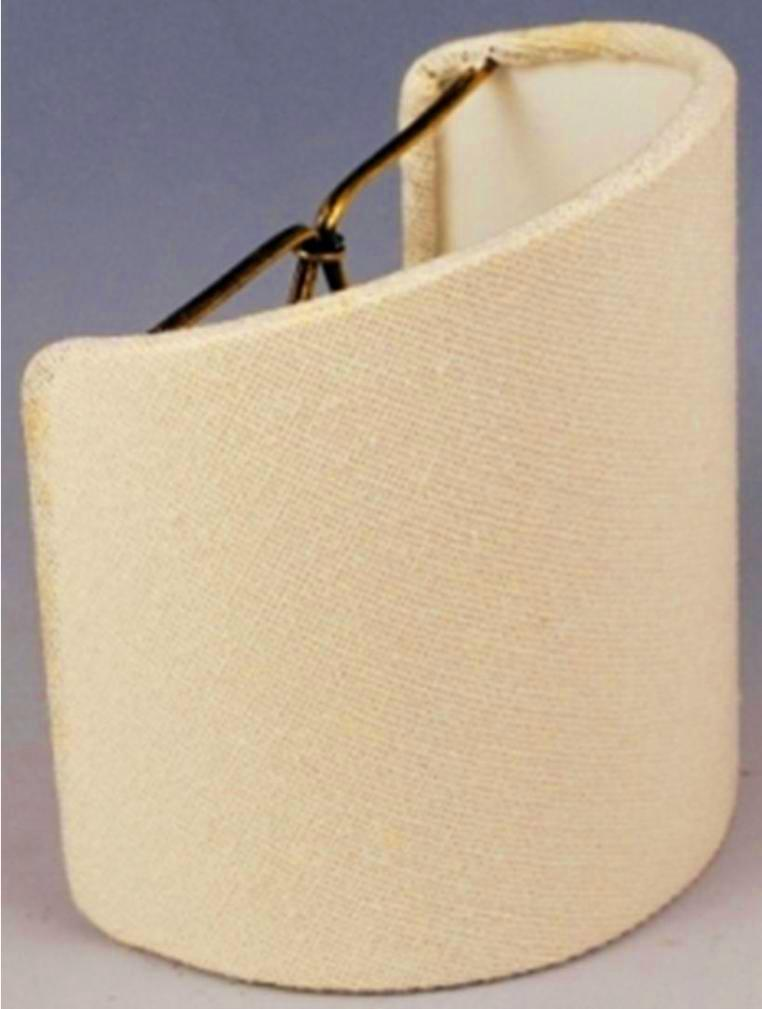 Sconce shade beige