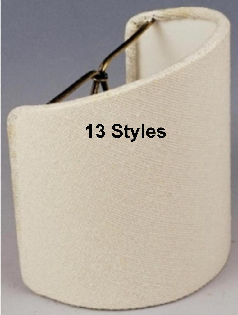 Sconce shades - 12 styles
