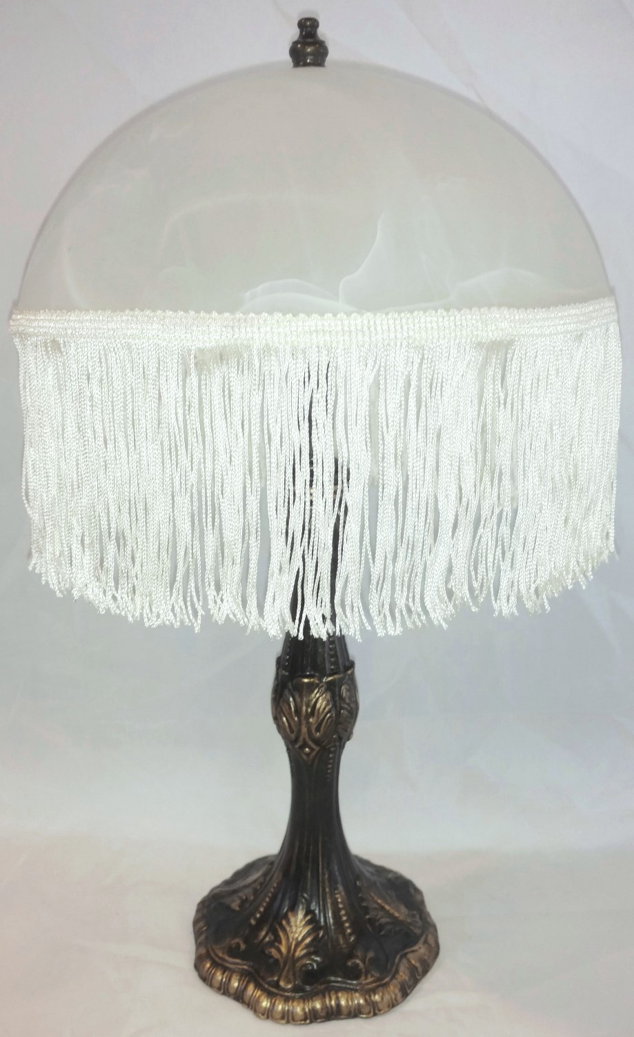 Art Deco Lamp Fringe Shade