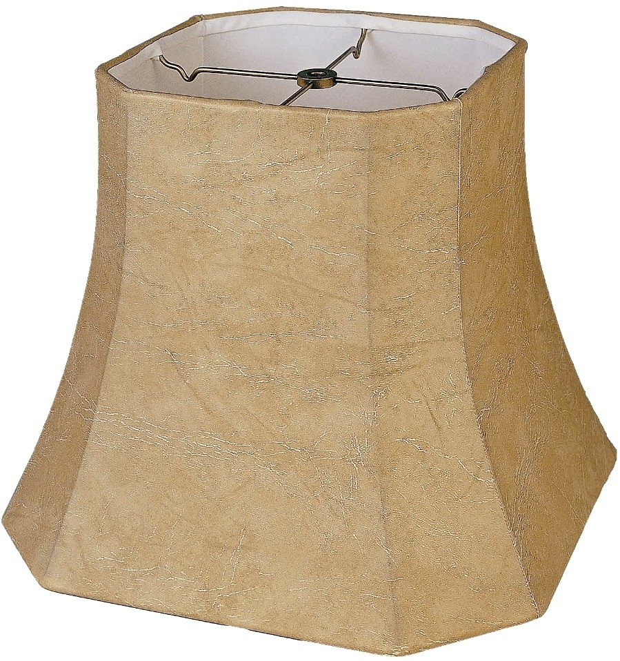 Leather Look Lamp Shade