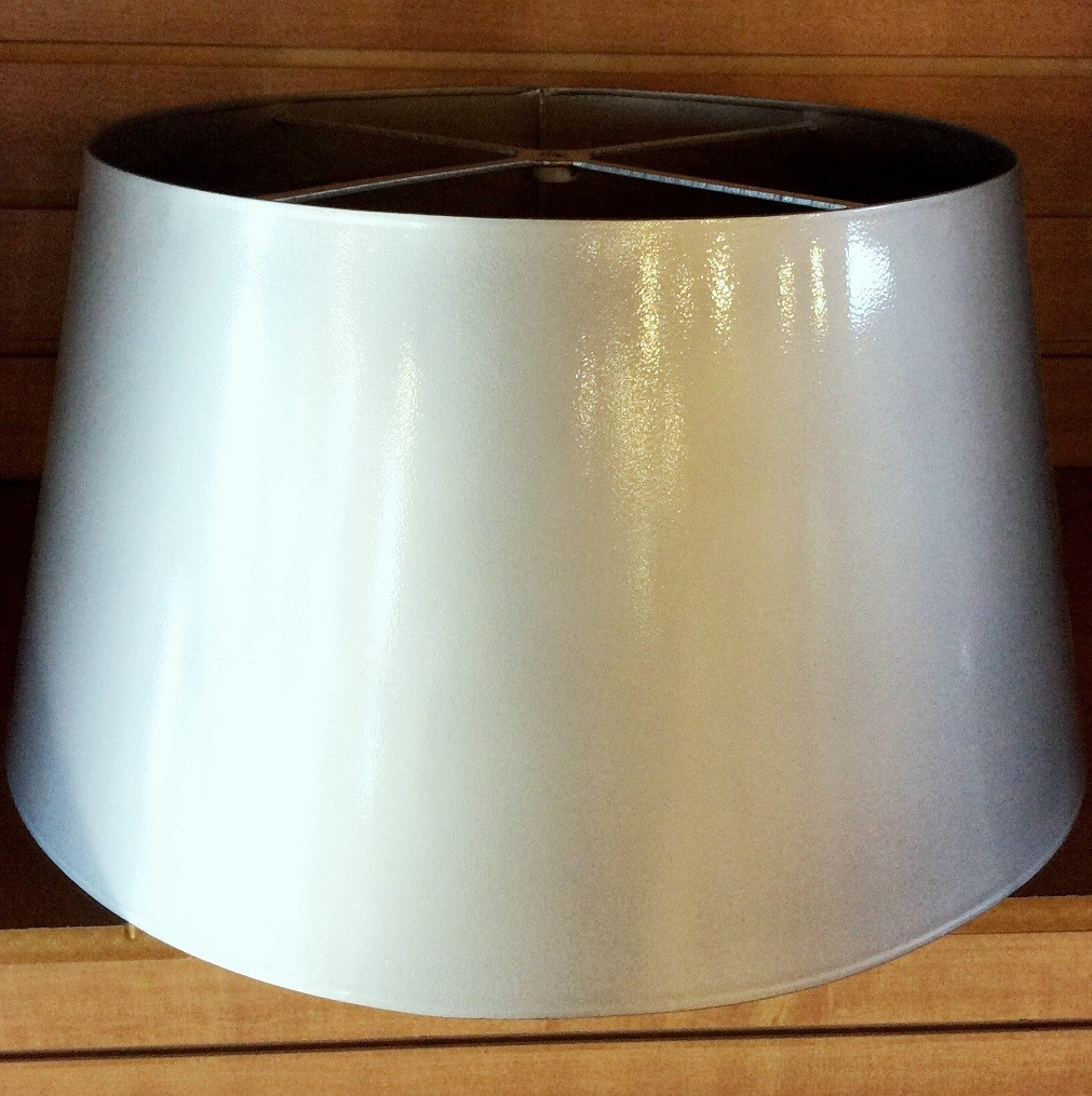 Stainless steel lamp shade