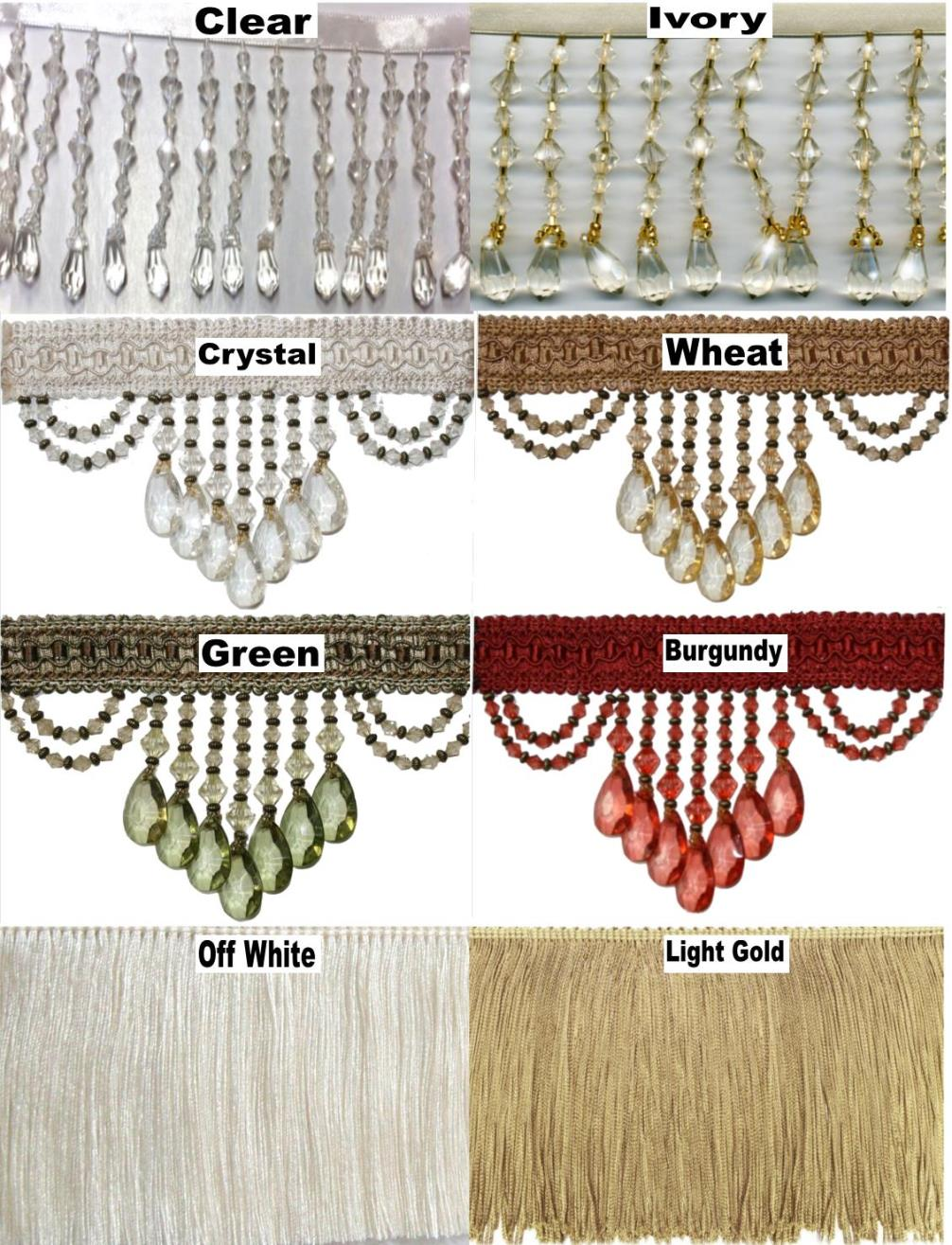 Beads & Fringe Options