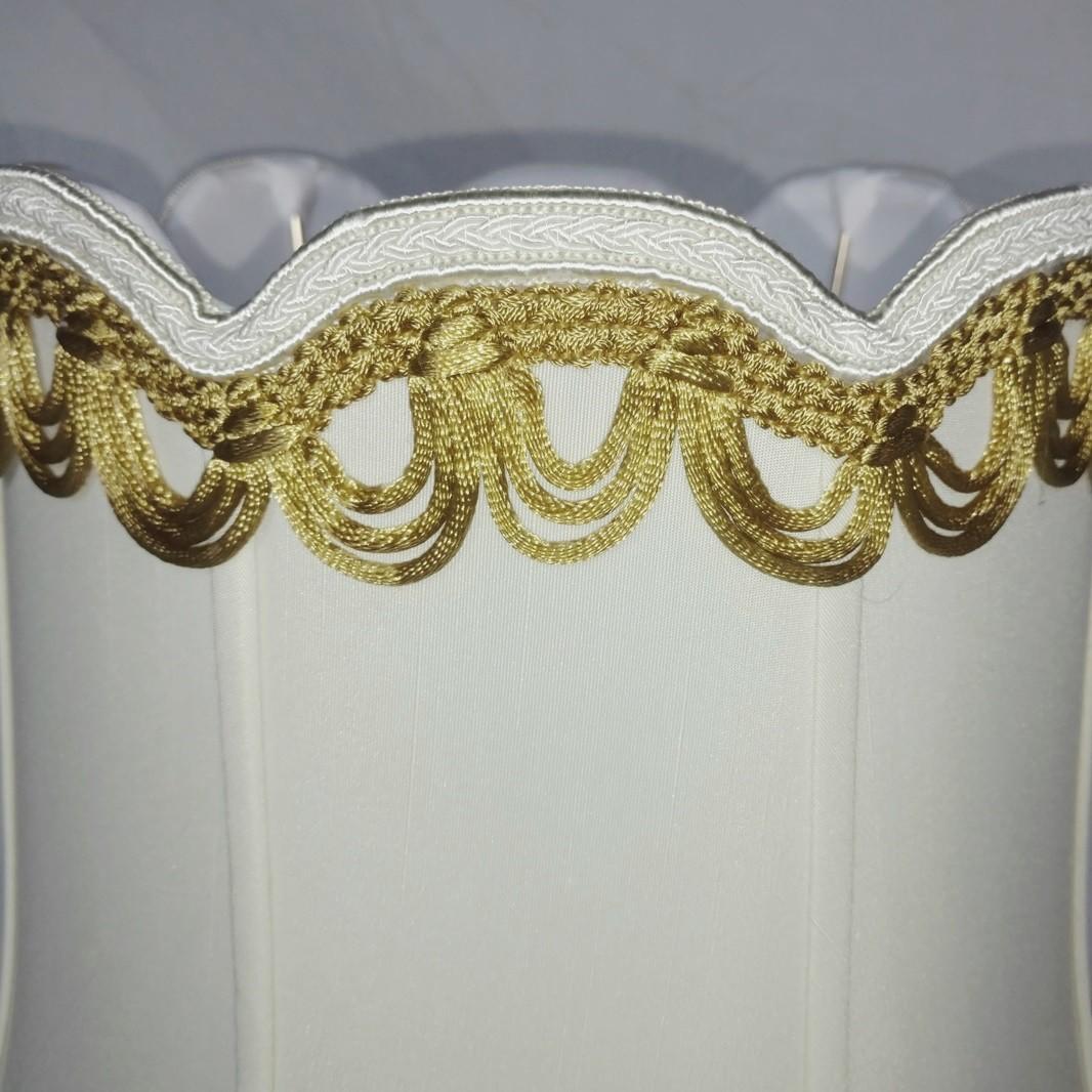 Victorian V Notch Lamp Shade