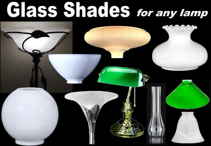 Glass Lamp Shades