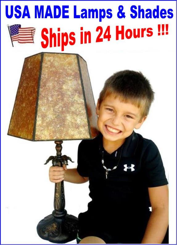 USA Made Lamps & Shades