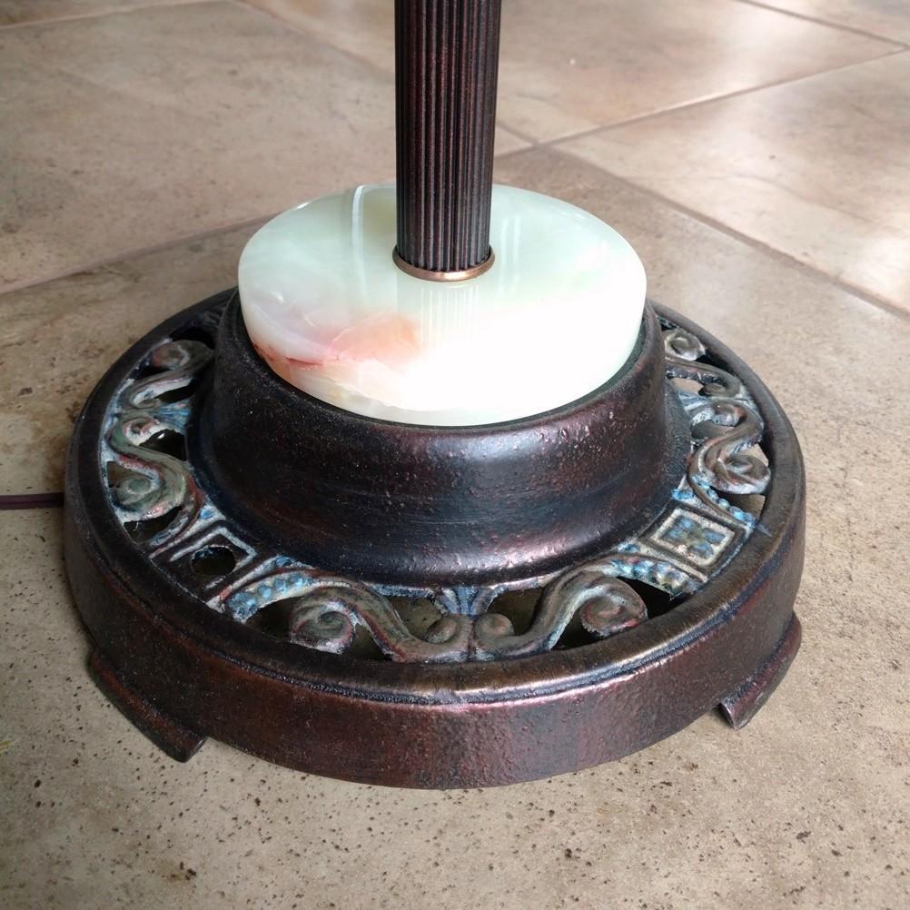 """Antique 6 Way Floor Lamp 63""""H"""