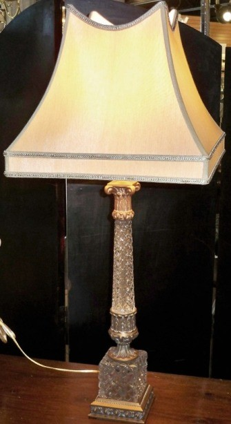 Antique Crystal Lamp Silk Shade Lamp Shade Pro