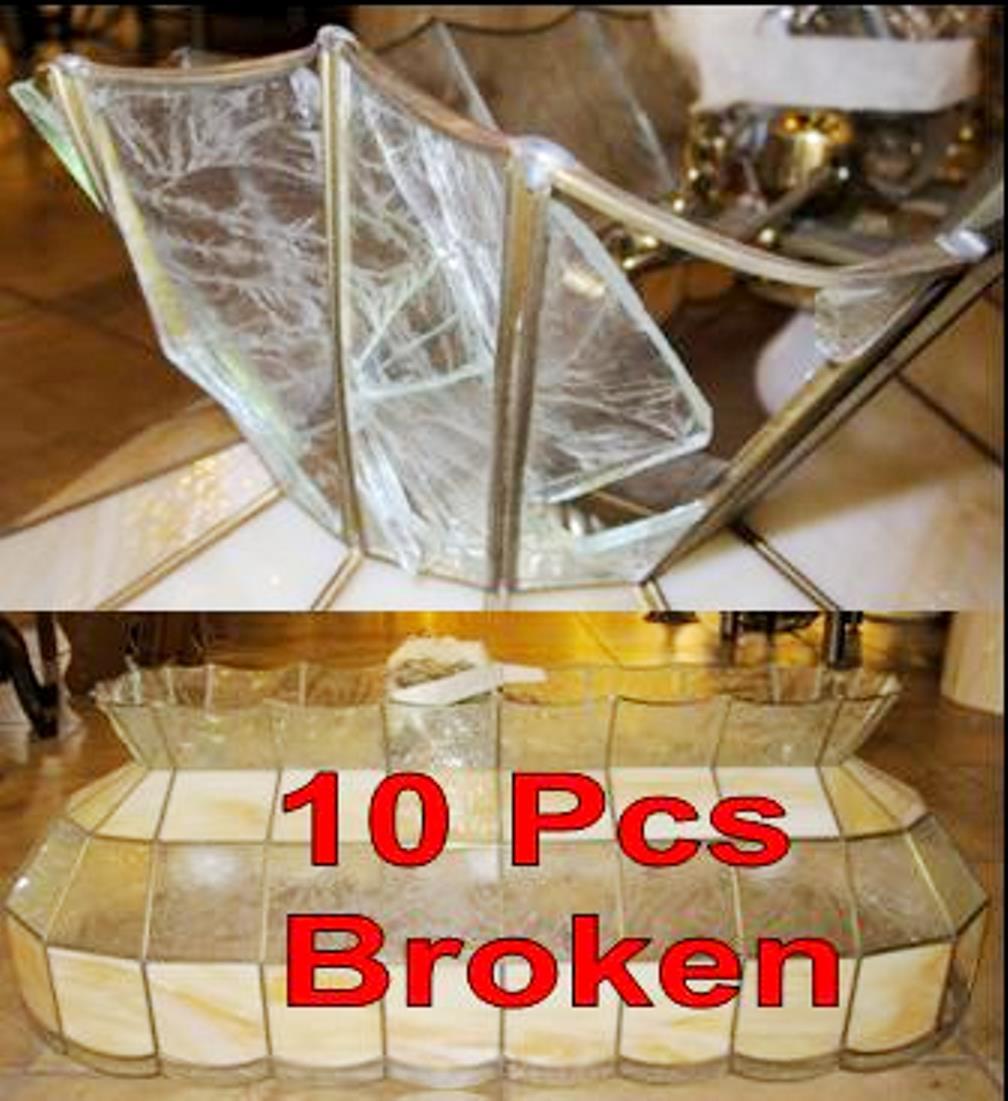Vintage Tiffany Billiard Light Repair