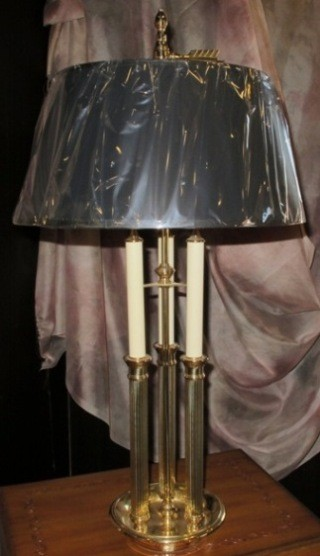 Baldwin lamp shade repair restoration lamp shade pro for Baldwin brass floor lamp shades