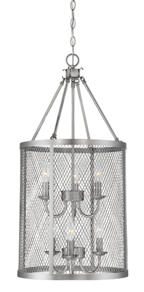 akron brushed pewter wire mesh drum pendant light 15 quot wx32 quot h wiring of 480 plug 4 wire