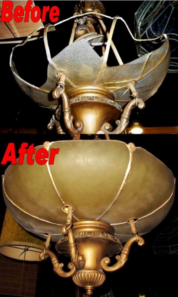 Antique Chandelier Repair