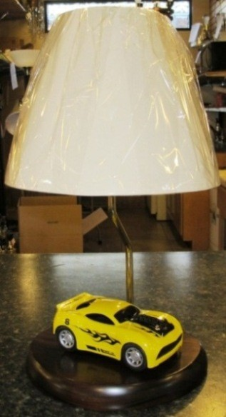 Custom Race Car Lamp