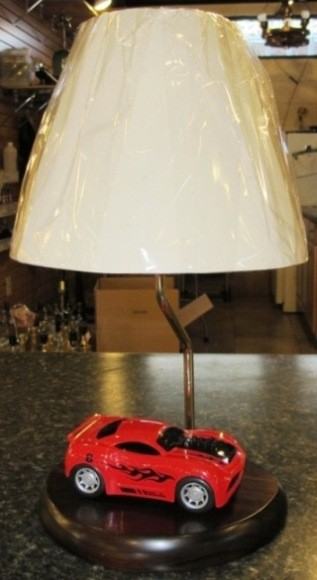 Race Car Lamp