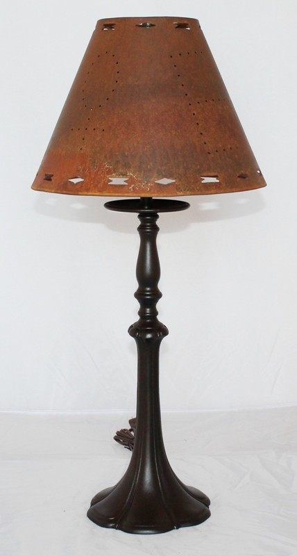 bronze patina rust lamp shade lamp shade pro. Black Bedroom Furniture Sets. Home Design Ideas