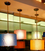 Custom Red, Blue, Gold, Pink Lamp Shades