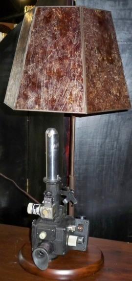 Custom World War II Sextant Lamp