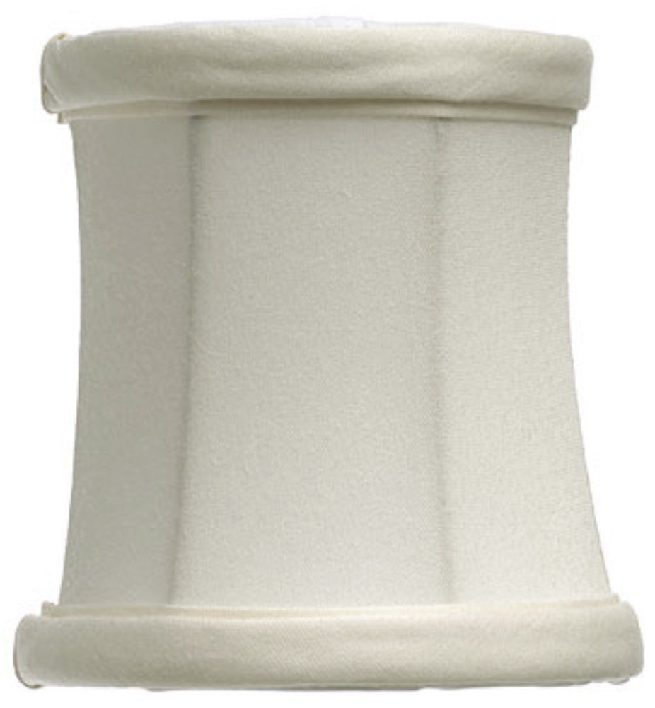 "Bell Drum Chandelier Lamp Shade Cream or White 4""W - Sale !"