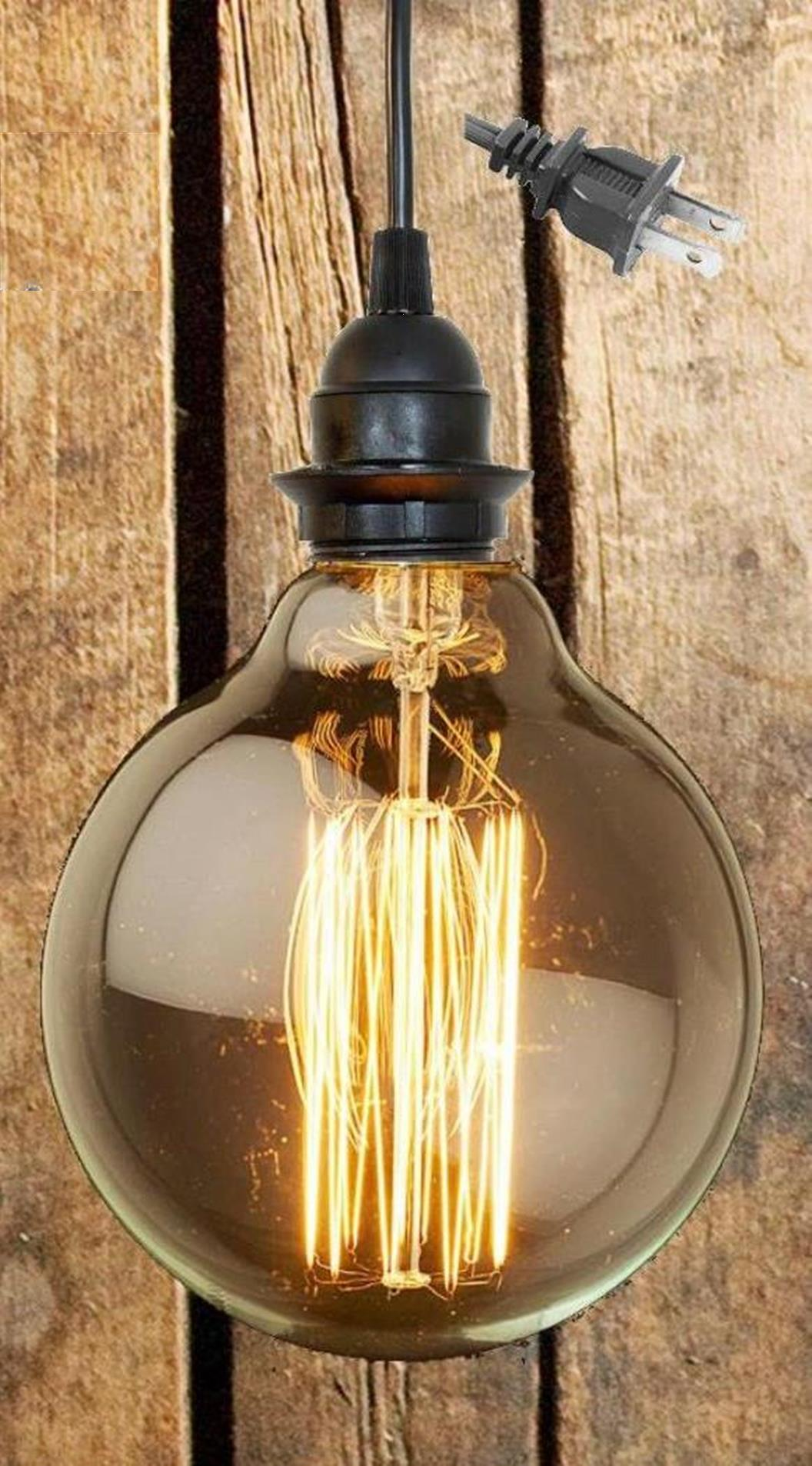 Edison Bulb Pendant Light Lamp Shade Pro