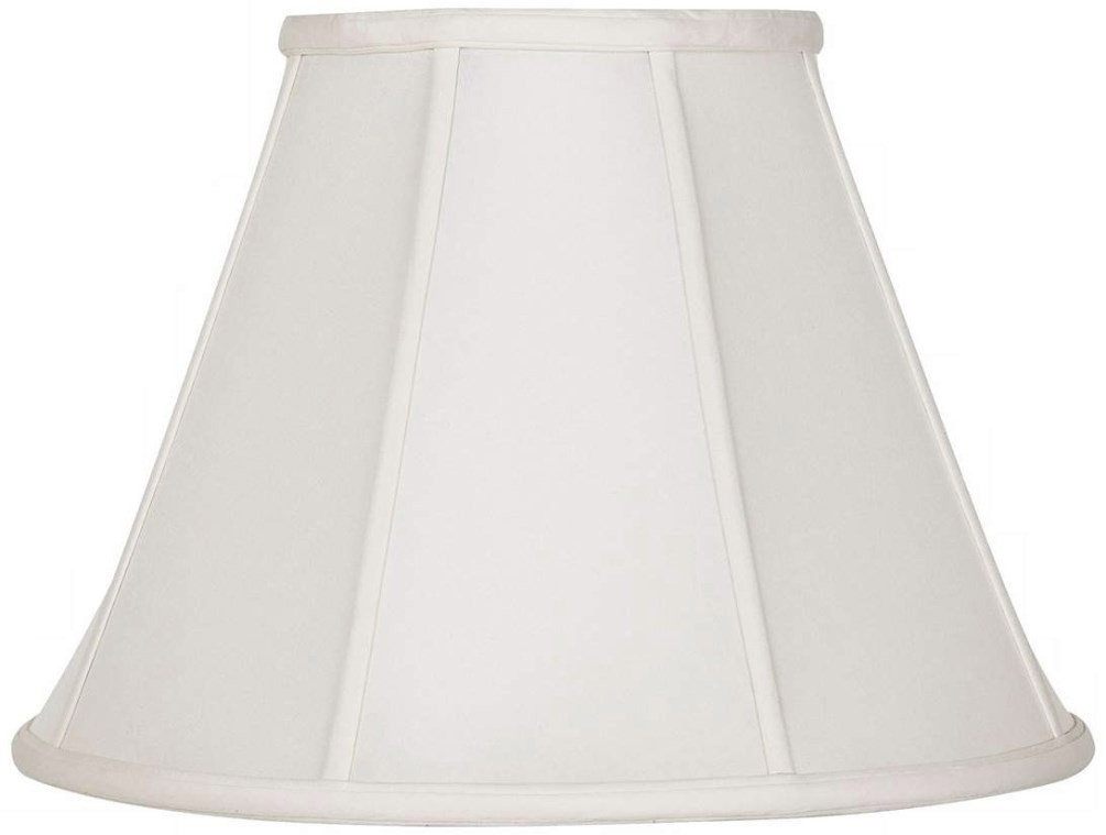 "Empire Silk Lamp Shade Cream, White, Beige 8-20""W"