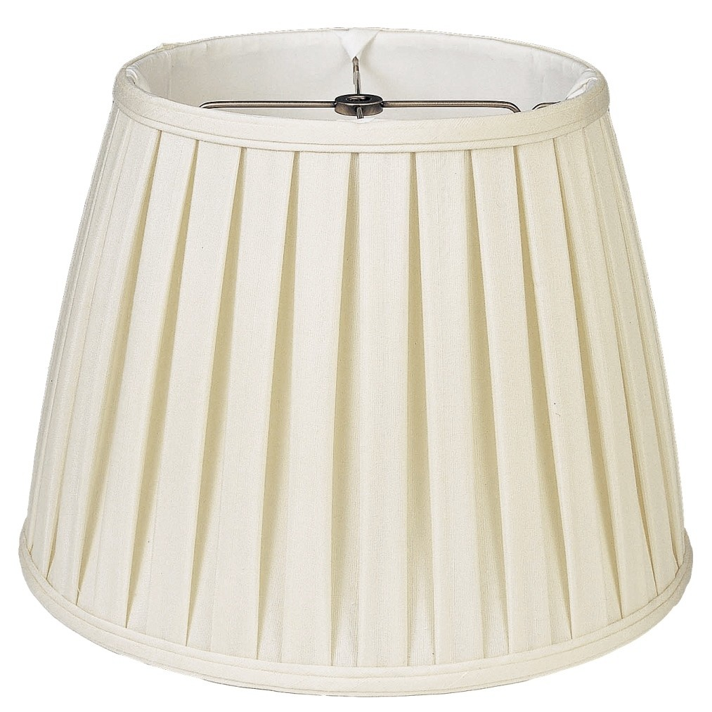 English Pleated Lamp Shade Cream White 10 20 W
