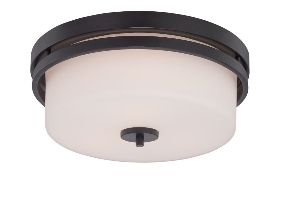 Parallel aged bronze flush ceiling light 15wx6h parallel aged bronze flush drum ceiling light aloadofball