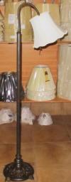 """Bronze Gooseneck Floor Lamp 55-60""""H SOLD"""