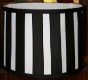 Custom Modern Drum Lamp Shade