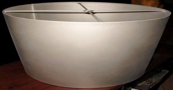 Inverted Drum Metal Lamp Shade