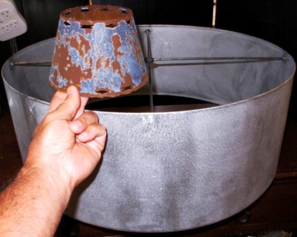 Metal Lamp Shade Examples