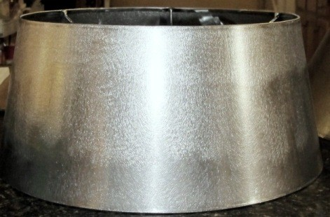 raw unfinished metal drum lamp shade