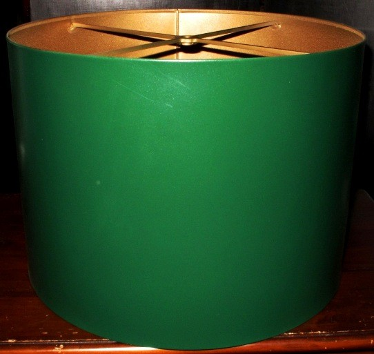 Green metal drum lamp shade no borders green drum metal lamp shade aloadofball