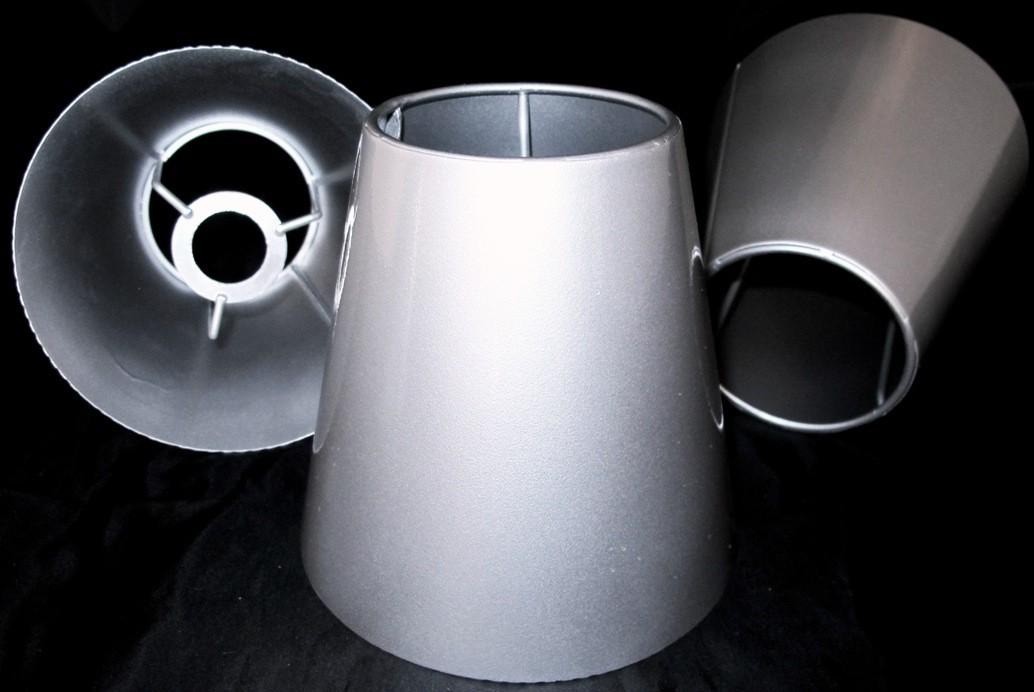 Tapered Metal Lamp Shades Custom Uno, Slip Uno Drum Lamp Shades